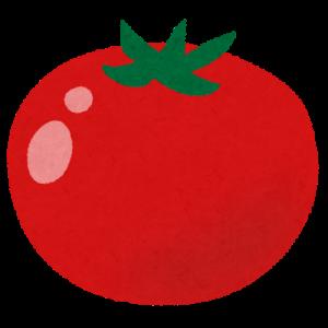 ベランダ菜園のトマト